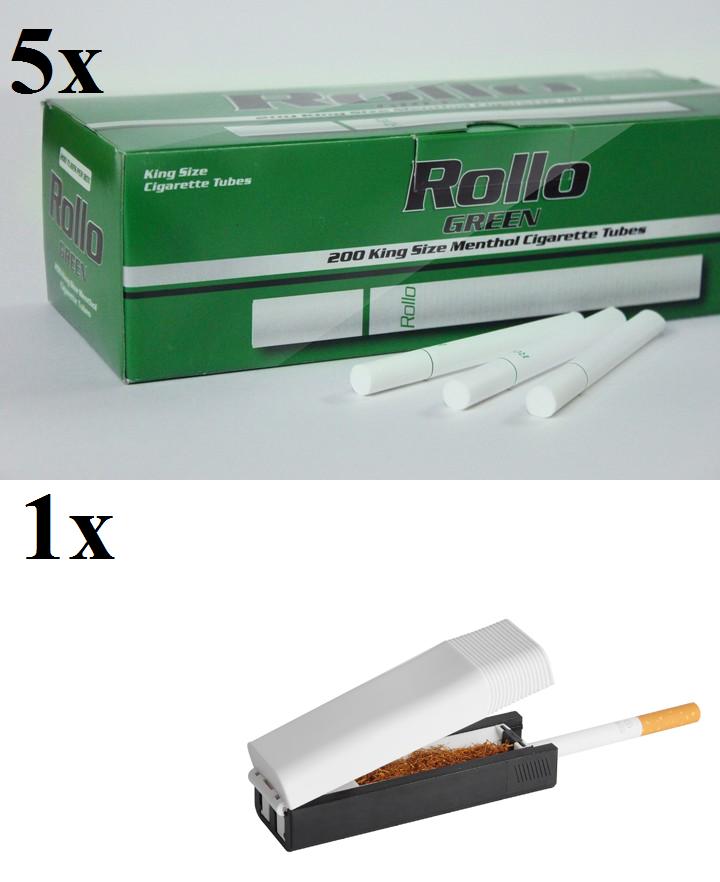 NEW Rollo KING SIZE 8.4mm Manual Cigarrette Tobbacco Tube Injector Machine